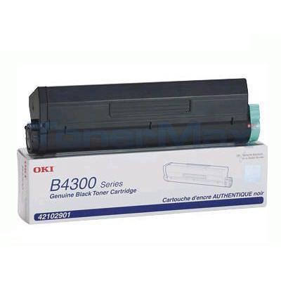 OKIDATA B4300/4350 TONER CARTRIDGE BLACK 6K